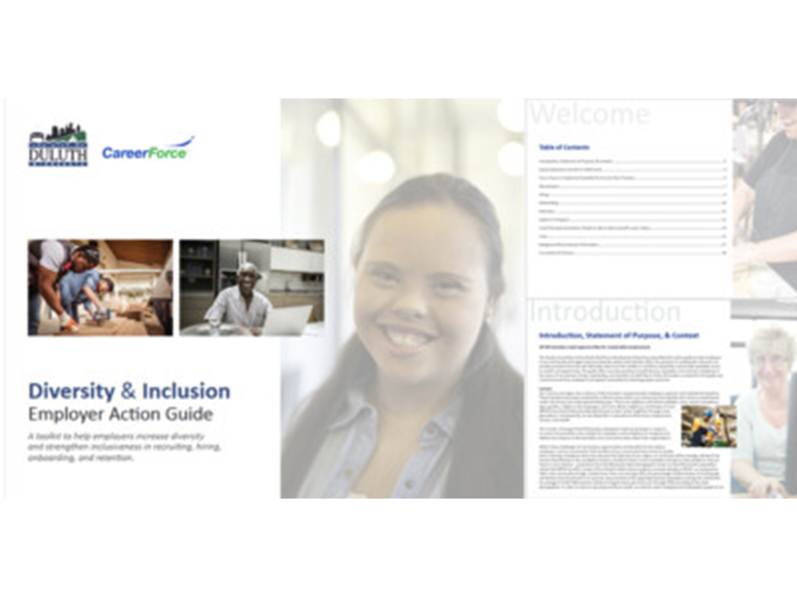 Diversity & Inclusion Employer Action Guide Image