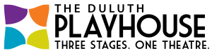Duluth Playhouse three stages on theatre logo
